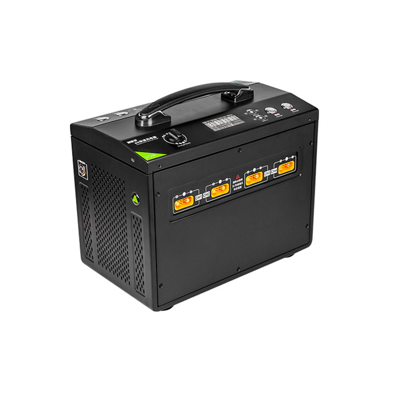 EV-PEAK U5Q 8CH Intelligent Charger 2400W 24A 12S LiPo LiHv Battery Charger