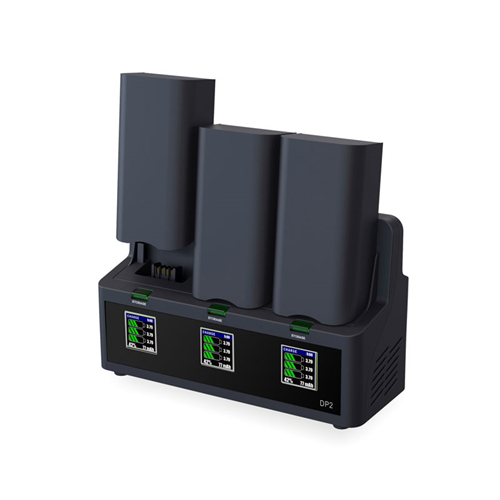 EV-PEAK DP2 35W/CH 3.5A/CH 3 Ports Intelligent Battery Charger for Parrot Bebop 2 Drone Battery