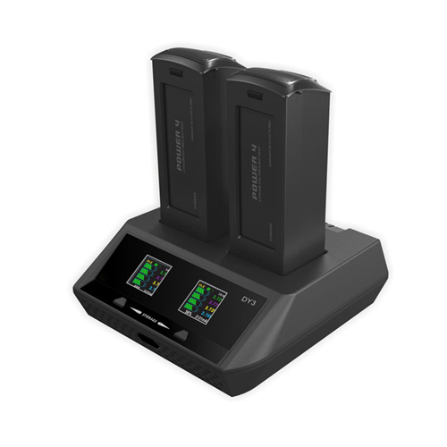 DY3 70Wx2 6A/CH Intelligent Battery Charger for Yuneec Typhoon H Drones Battery