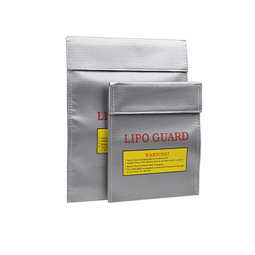 LiPo Battery Safety Guard Bag Safe Case Sleeve Fireproof Bag for Charge Discharge Storage